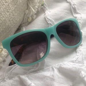 Anthropology Blue and Tortoiseshell Sunglasses